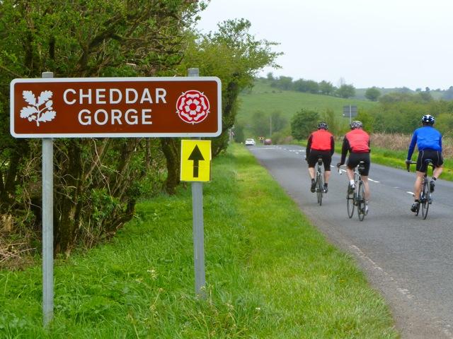 Climbing Cheddar Gorge