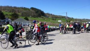 second food stop riders
