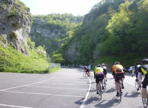 heading up the Gorge