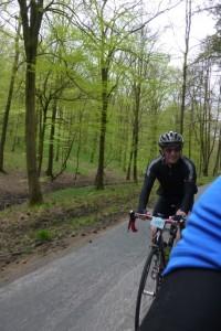 rider behind