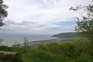 sea views from Porlock Toll Road