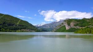Hoz de Jaca reservoir