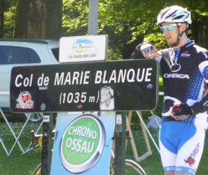 top of the Col de Marie-Blanque