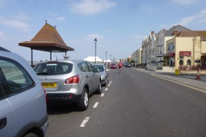 burnham on sea front