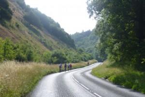 halfway up Burrington
