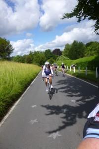riders behind me