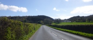 approaching Burrington Combe