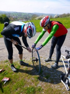 double puncture