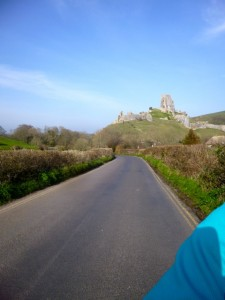 leaving Corfe behind