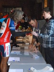 riders registering