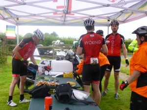 Woking CC first food stop