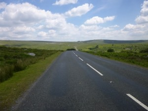 a long way back to Princetown