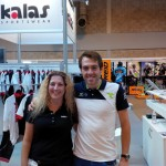 me and alex dowsett