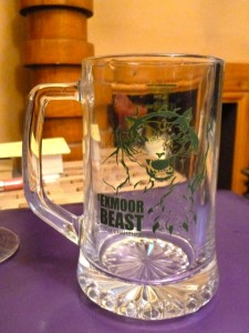 Exmoor Beast glass