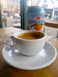 coffee & orange