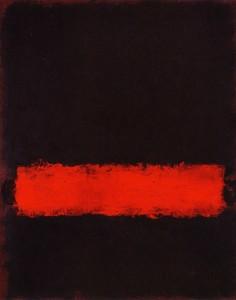 Mark Rothko Black Red and Black