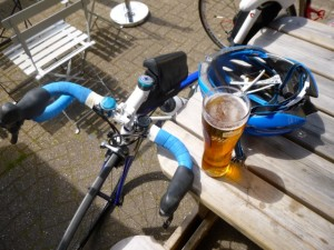 post ride refreshment