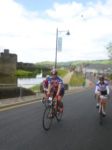Caerphilly and riders