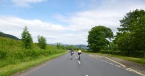 heading for Welsh hills
