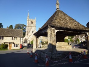 Castle Combe church