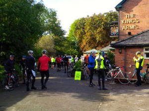 Food stop at The King's Arms