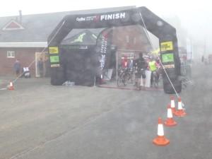 foggy start line
