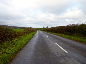 damp country roads