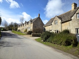 cottages up hill