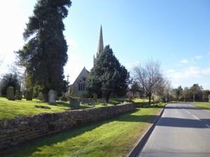 pretty pointy church