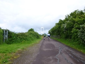 10 cycle path to bridge