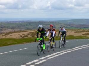 13 trio riding high