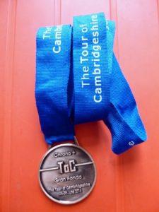 Tour of Cambridgeshire medal
