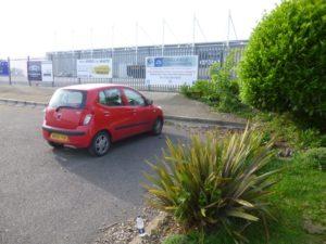 VIP parking for registration