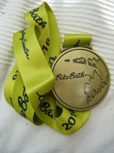 Bike Bath 2016 Medal