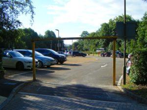 Park & Ride entrance