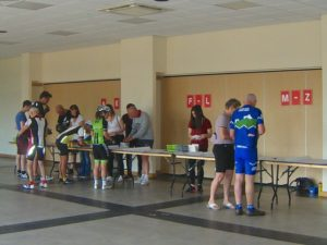 registration desks