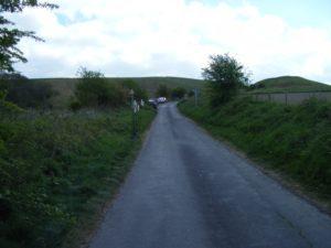 timed Uffington climb